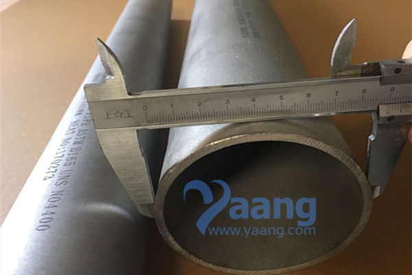ASTM B165 Monel 400 Seamless Pipe DN80 SCH10S 1200MM