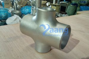 asme b16 9 astm a403 304l seamless reducing cross dn65xdn50 sch40 300x200 - ASME B16.9 ASTM A403 304L Seamless Reducing Cross DN65×DN50 Sch40