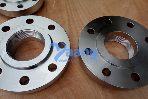 ASME B16.5 A182 UNS S32750 Threaded Flange RF DN100 Class600