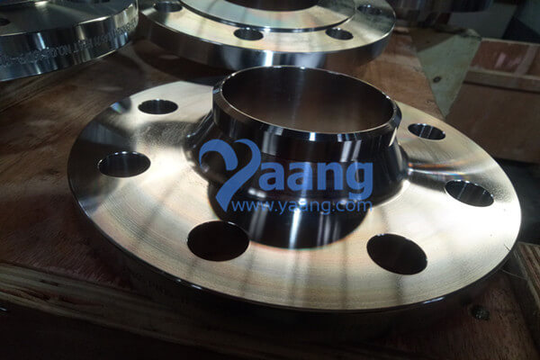 EN 1092-1 Type 11B 316Ti Welding Neck Flange Raised Face 2-1/2 Inch PN16