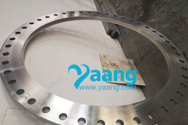 "awwa c207 07 astm a182 stainless steel 316l class f ring type slip on flange 48 300 psi - AWWA C207-07 ASTM A182 Stainless Steel 316L Class F Ring Type Slip-On Flange 48"" 300 psi"
