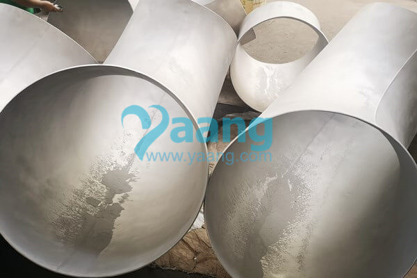 asme b16 9 astm a403 wp316l welded 90 degree lr elbow dn600 sch10s - ASME B16.9 ASTM A403 WP316L Welded 90 Degree LR Elbow DN600 SCH10S