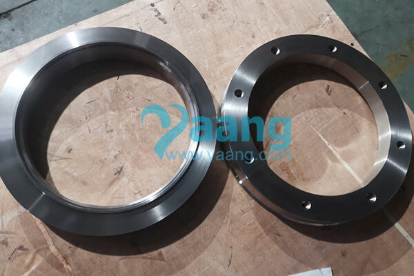 Nonstandard ASTM A240 GR.2507 Ring Flange Flat Face 324mm X 260mm X 65mm